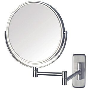 "Jerdon Wall-Mount 8X/1X 8"" diameter Vanity Mirror"